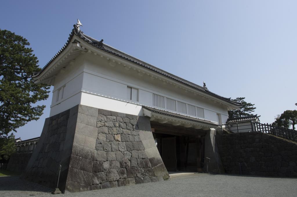 小田原城堡的酷门免费照片