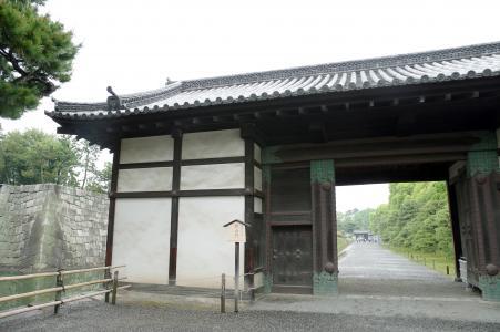免费的二条城门的照片