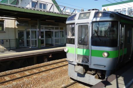 JR北海道721系列火车免费素材库存