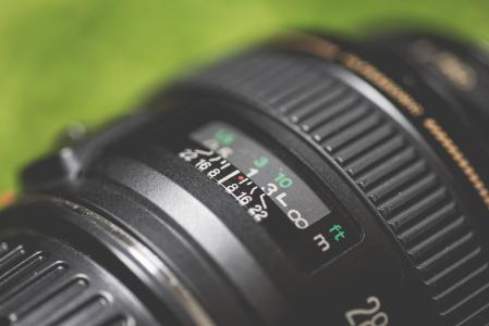 DSLR摄象机镜头宏指令关闭