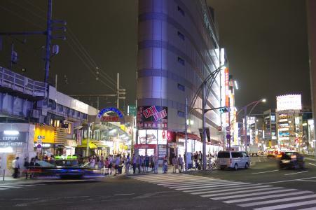 上野在晚上的免费股票照片