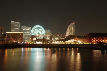 横滨免费图片夜视图