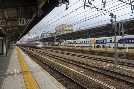 名古屋站南山和新干线特快免费照片