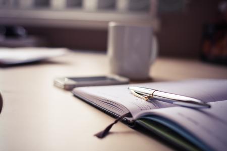 豪华银笔与商业日记