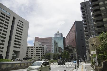 在福冈市政厅附近的免费图片