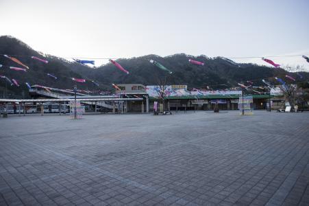 鬼怒川温泉站前的免费照片