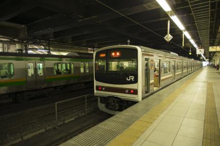 JR Nikko Line 205 series免费图片