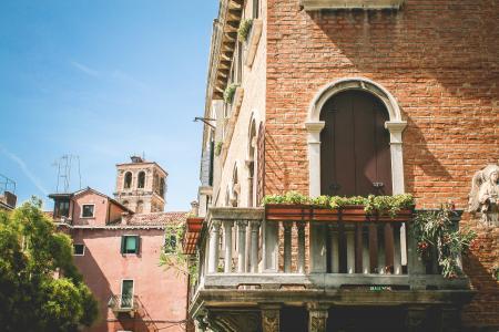 美丽的威尼斯夏季建筑