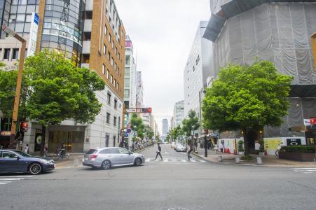 名古屋市荣长谷大通免费图片