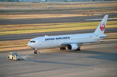 飞机(羽田机场)免费图片