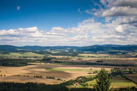 典型的捷克全景
