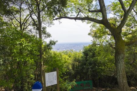 从建华看到的岐阜市景观山材料