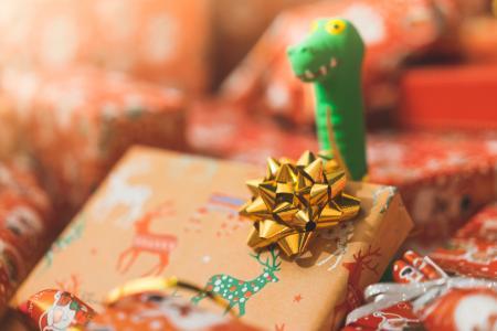 圣诞节礼物套装饰关闭