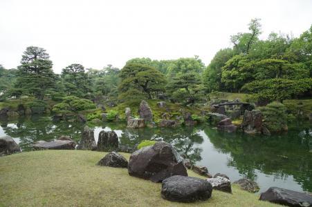 二条城 -  Ninomaru花园免费照片股票