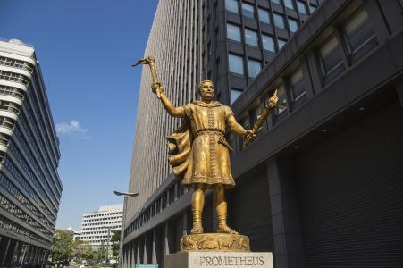 普罗米修斯雕像免费图片
