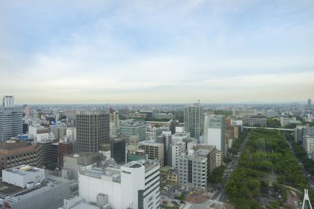 名古屋免版税库存照片都市风景