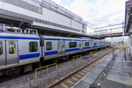 Joban线E531 series在柏站的免费图片