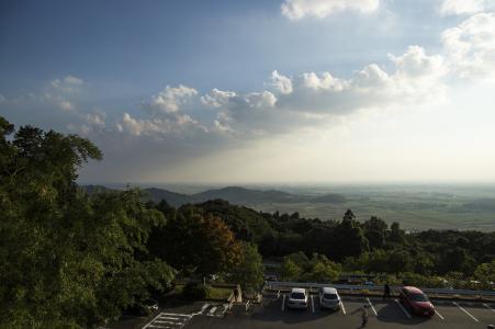从筑波山照片的风景