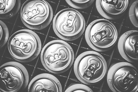 苏打饮料罐的模式