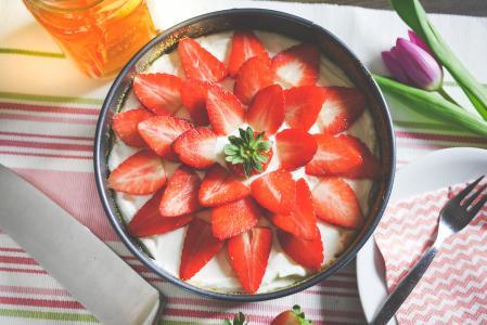 自制草莓派