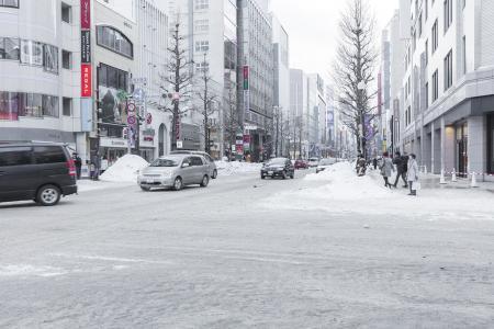 免费图片在札幌南部海岸在冬天