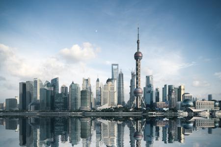 上海东方明珠风光