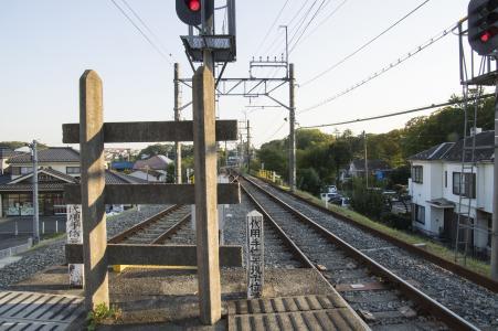从西武Omoi车站看到的铁道