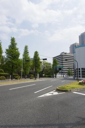 在永田町免版税库存照片