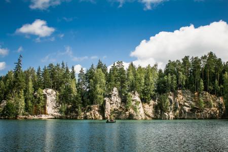 Adrspach-Teplice Rocks & Lake Panorama