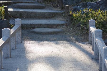 免费的清澄花园桥和楼梯的照片
