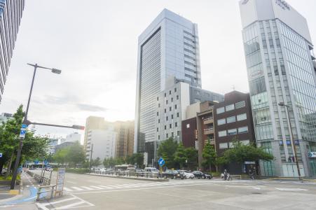 Sakura dori在名古屋市免费图片