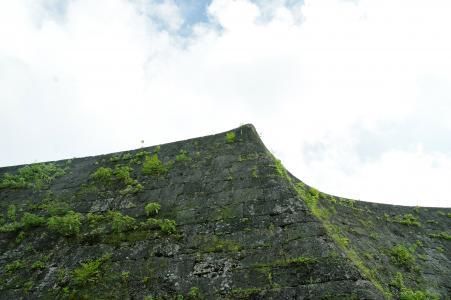 首里城的石垣免费照片