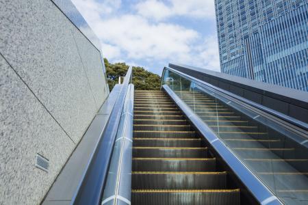 自动扶梯免费股票照片