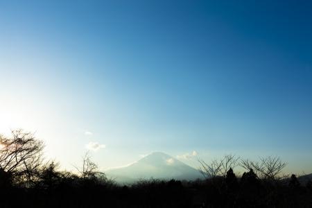 从御殿场可见的富士免费照片