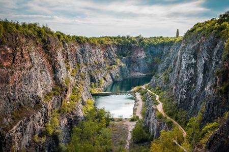 捷克共和国Velka Amerika采石场
