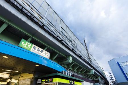 JR Kameari车站(北入口)免费照片