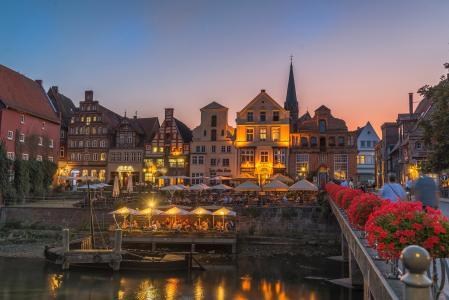浪漫的德国小镇