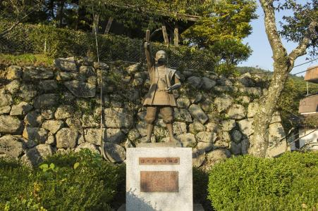 Kojiro藤田铜像免费照片