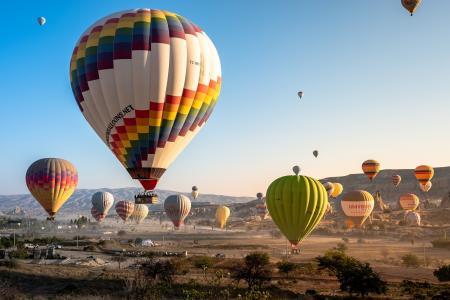 卡帕多西亚的热气球浪漫之旅