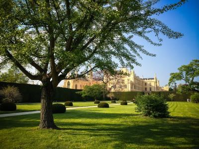 公园和Lednice城堡,捷克共和国