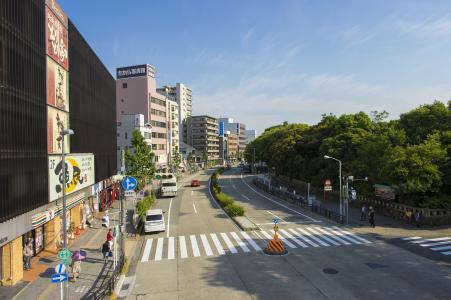名古屋Jingumaee车站前照片