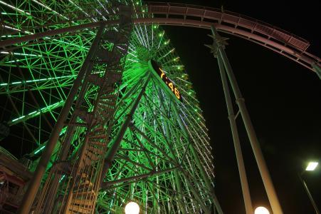 横滨科斯莫世界摩天轮免费图片