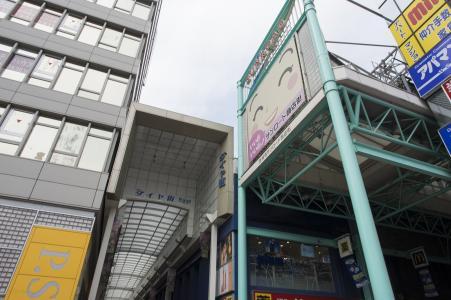 吉祥寺三路购物街免费素材