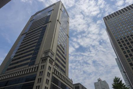 高层建筑东京丸之内免费股票照片