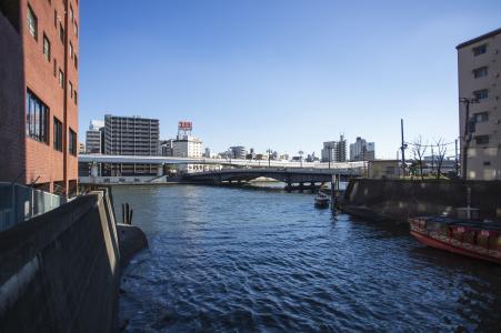 Sumidagawa查看从柳仓免费照片