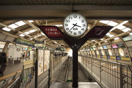 江之岛电铁藤泽站免费图片