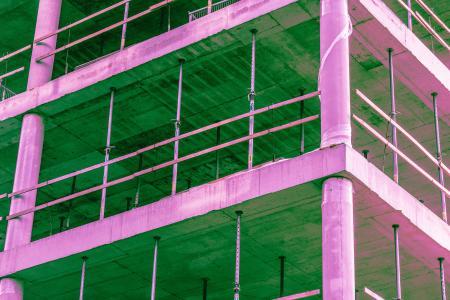 建设网站建设抽象的迷幻颜色