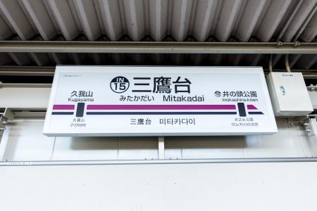 Keiou Inokashira线Mitakadai站免费图片