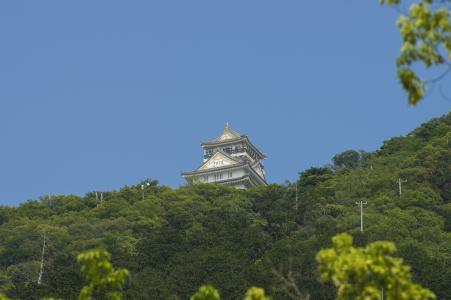 Kinkakuyama和岐阜城堡免费库存照片