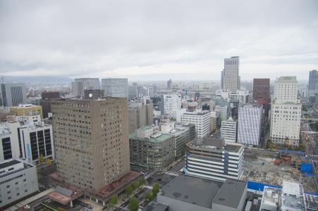 从札幌电视塔看到的札幌风景